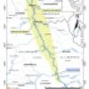 Mapa Proyecto Central Hidroeléctrica Río Grande I y Río Grande II