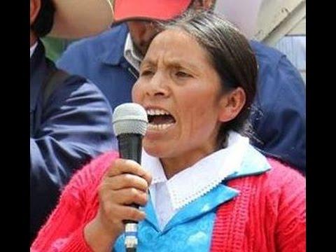 Embedded thumbnail for Máxima Acuña denuncia los abusos que recibe de Minera Yanacocha