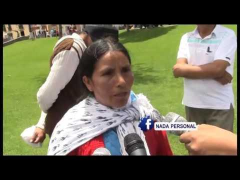 Embedded thumbnail for MÁXIMA CHAUPE: NO VIVO TRANQUILA EN MI CASA POR CULPA DE YANACOCHA
